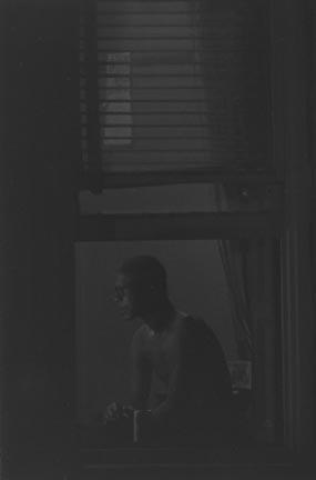 Roy DeCarava,  Man in Window,  1978