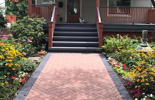 Brick Paver Walkways in Skokie, IL, Chicago, IL