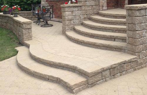 Brick Paver Stoops, Steps in Skokie, IL, Chicago, IL