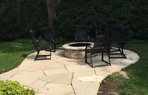 Natural Stone, Outdoor Fireplaces in Skokie, IL, Chicago, IL