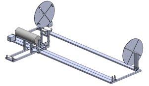 Filament Winder Conceptual CAD Model
