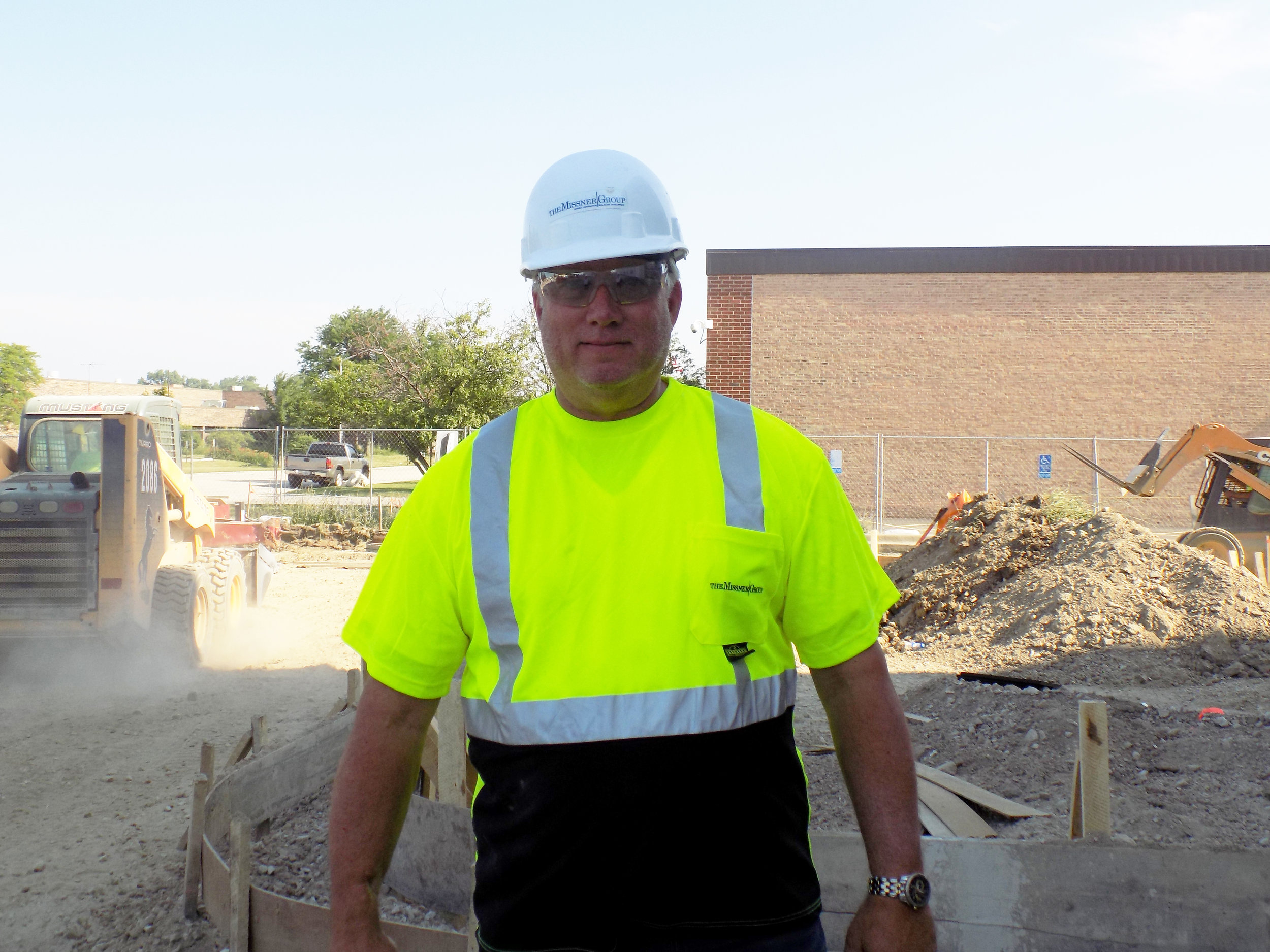 Mike Sneddon, Project Superintendent