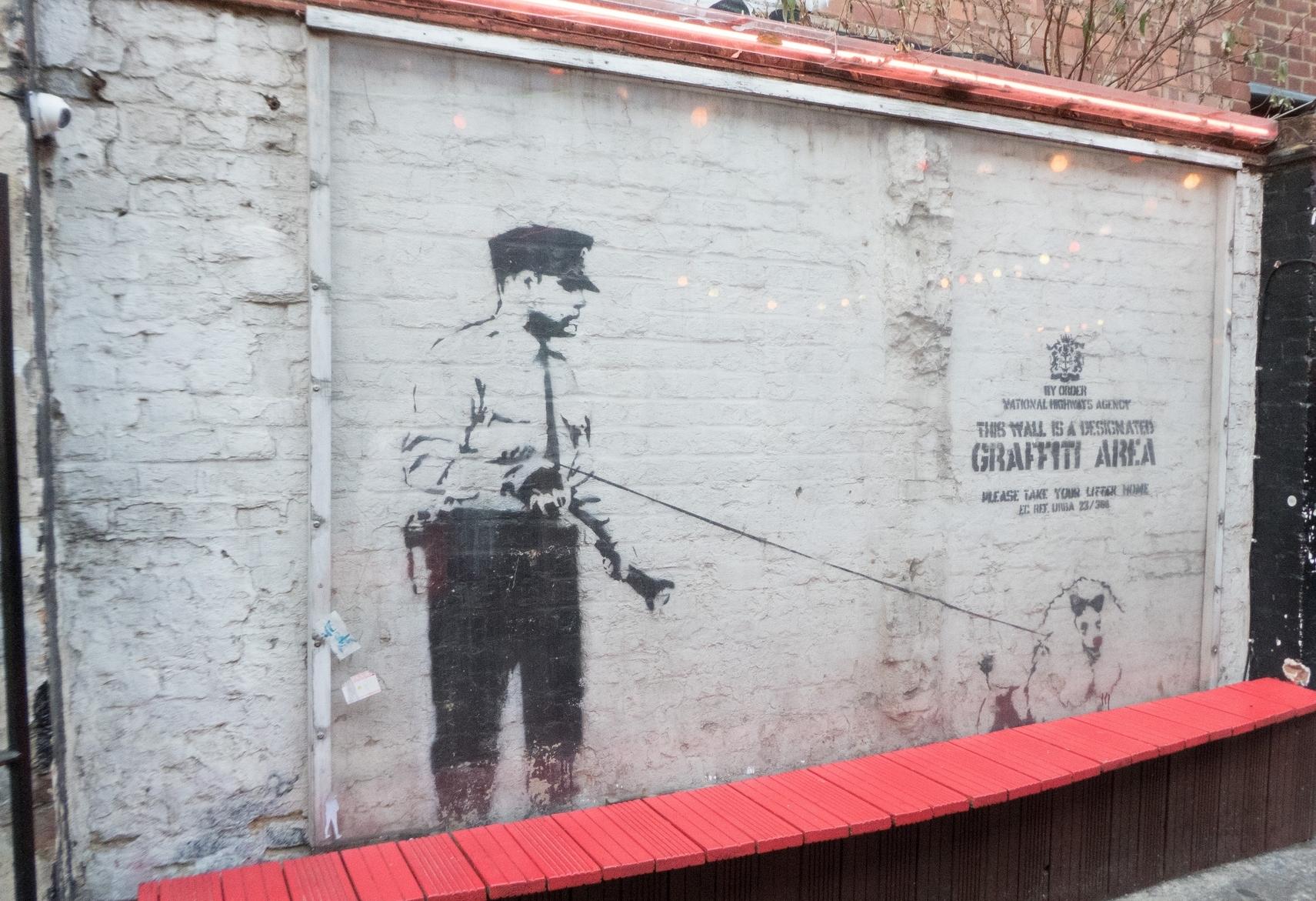 Banksy's 'Designated Graffiti Area'