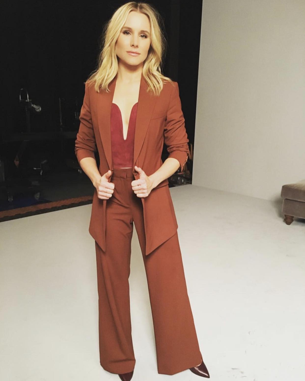 Kristen Bell wears Enchysia