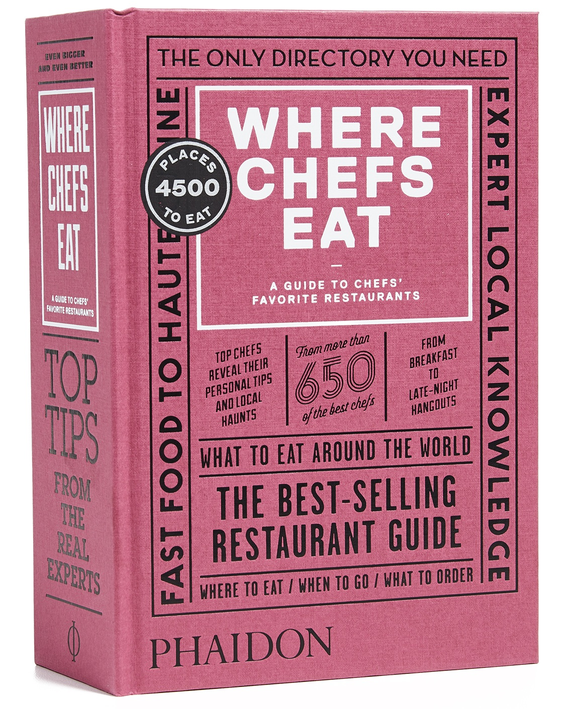 Phaidon's take on the restaurant guide turns chefs including Yotam Ottolenghi and Yoshihiro Narisawa into reviewers. The 4,500 restaurant featured span 70 countries., so start saving those air miles.   Where Chefs Eat book, $35, Phaidon at    East Dane