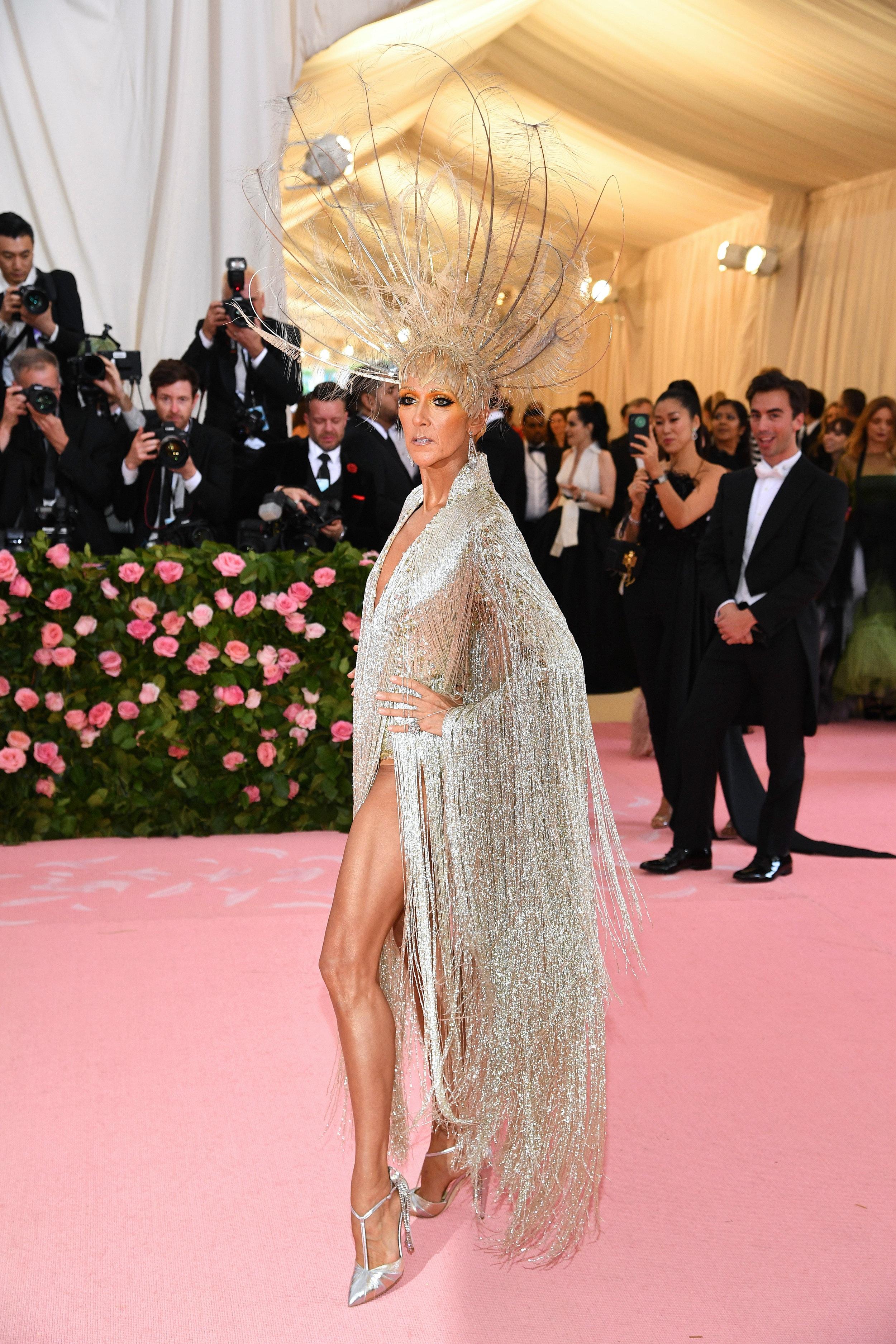 Celine Dion wears Celine