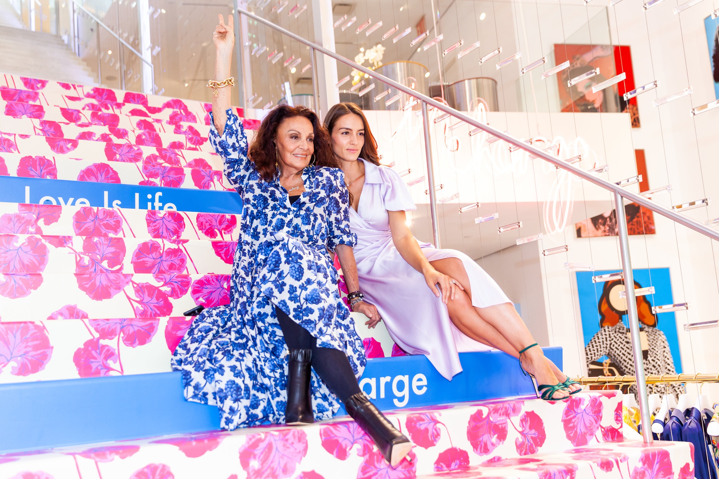 Chloe Gosselin x DVF - Women Empowering Women- Take a look inside the CG Pop-up at the DVF Flagship in New York!