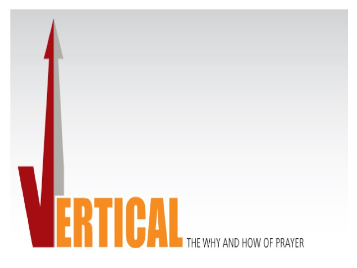 the why and how of prayer