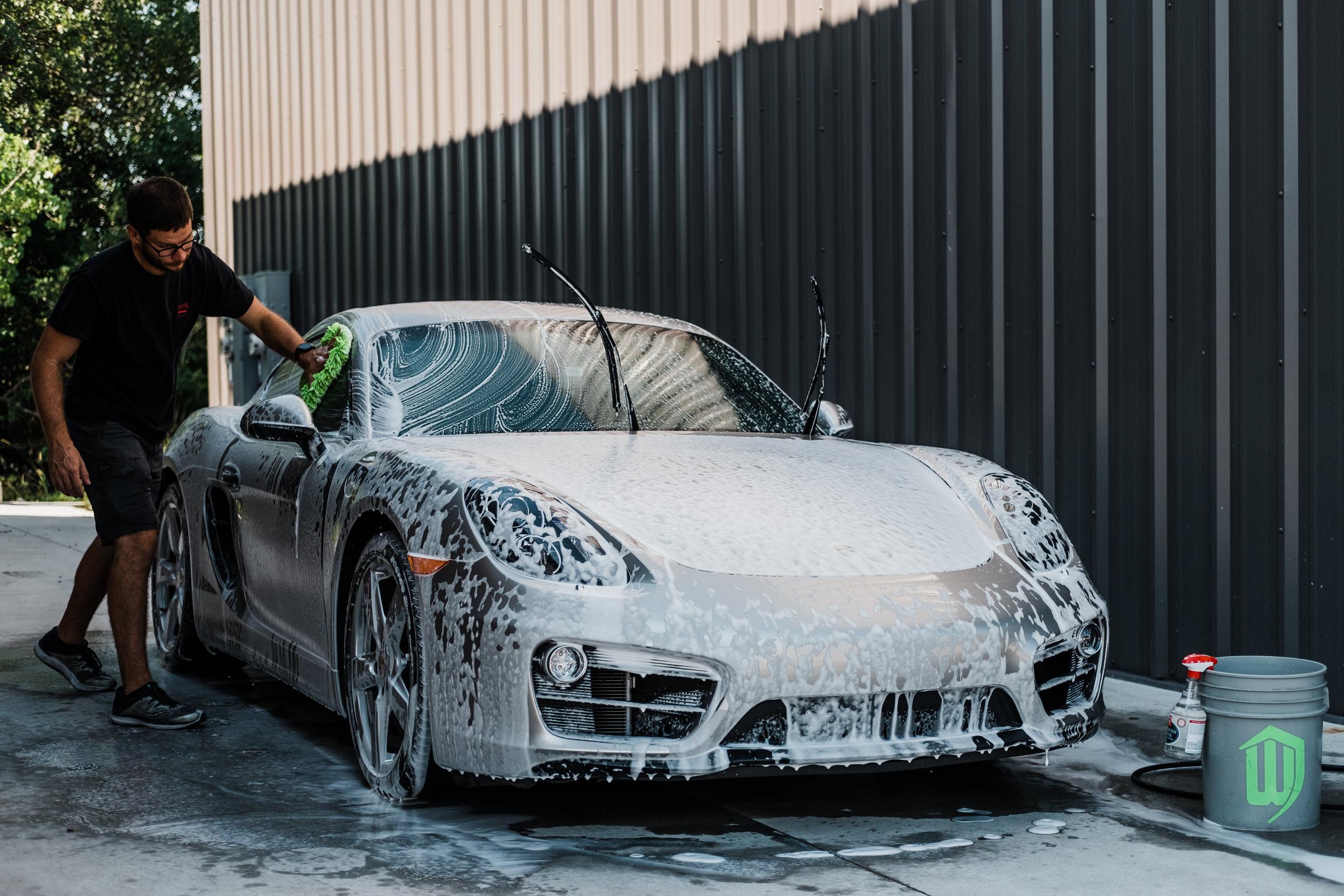 Porsche Cayman - XPEL Paint Protection Film - Clear Bra - Cayman