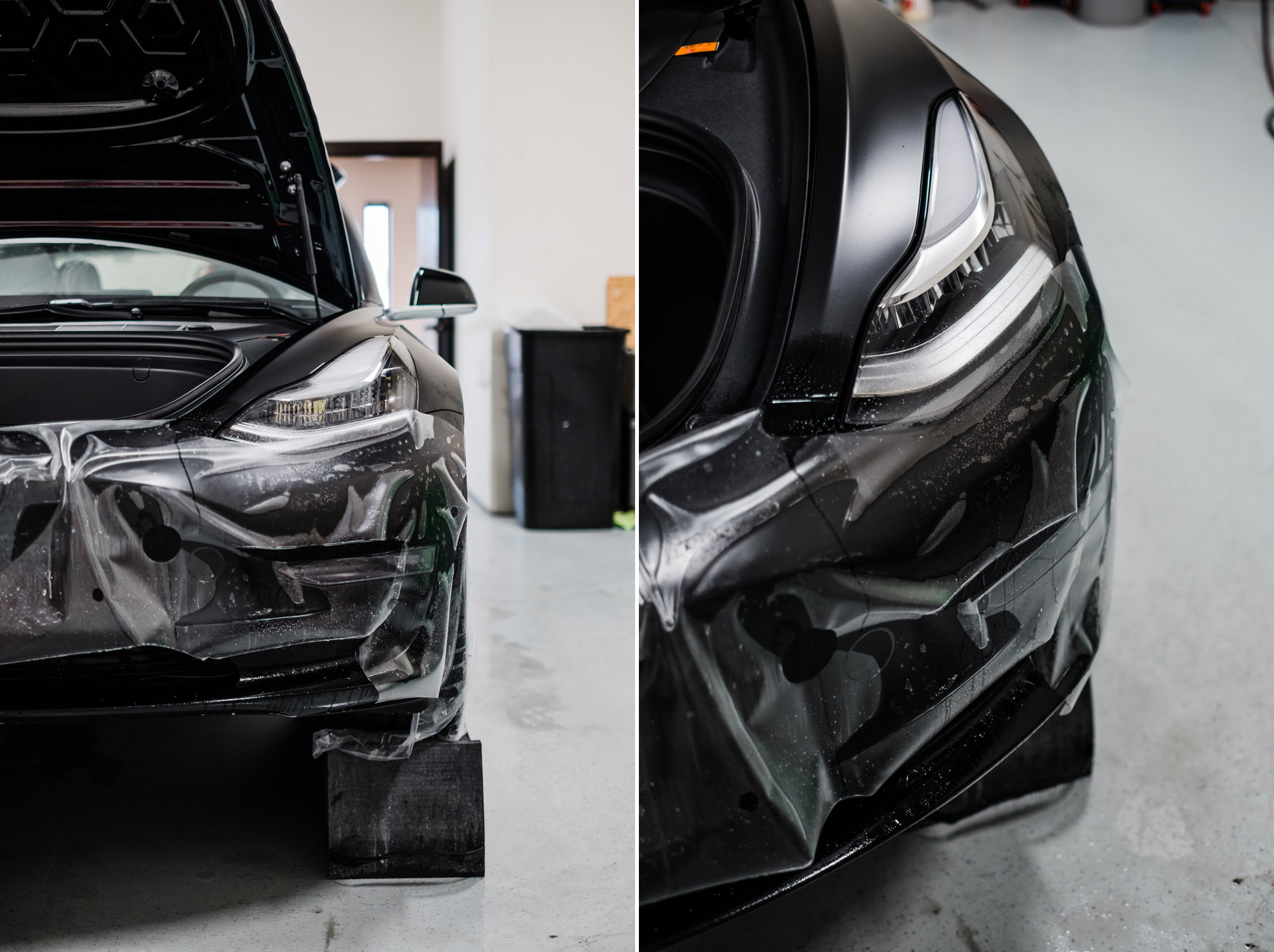 Tesla Model 3 - Full Car Wrap - XPEL Stealth - XPEL Paint ...