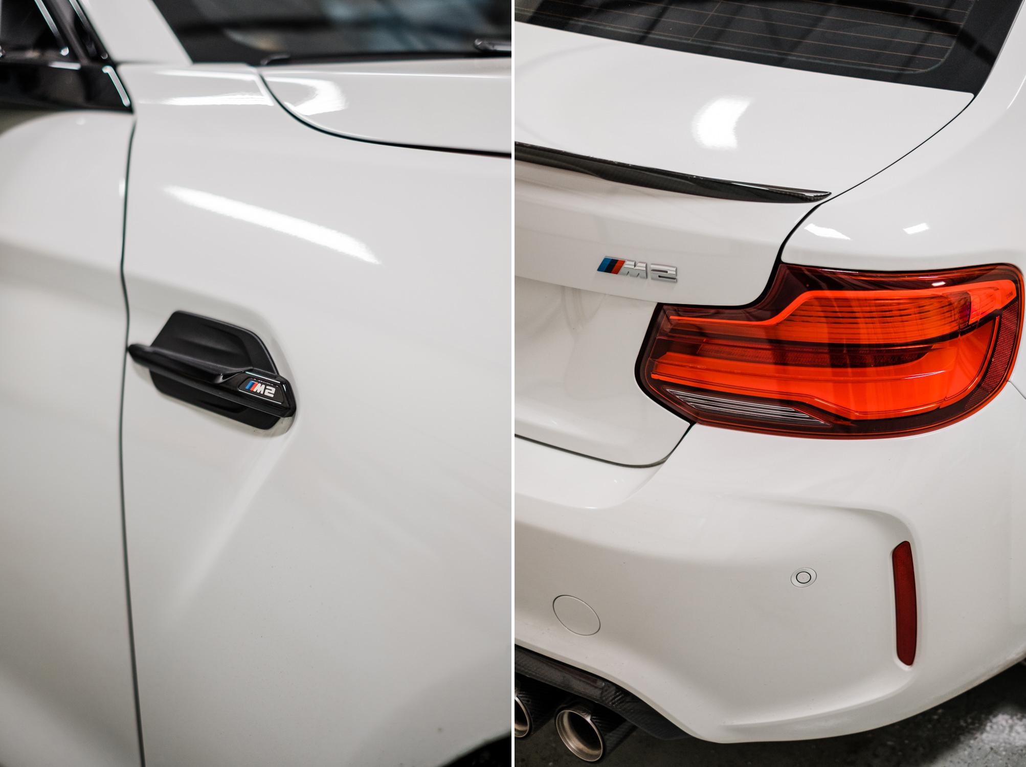BMW M2 - Full Vinyl Wrap - XPEL Paint Protection Film