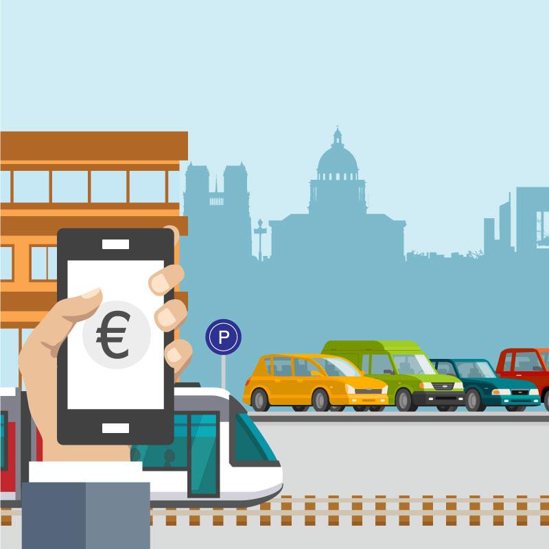 la mobilité comodale - Faciliter l'utilisation des modes les plus pertinents pour chaque type d'usage, permettre des transitions attractives entre les modes à un coût compétitif