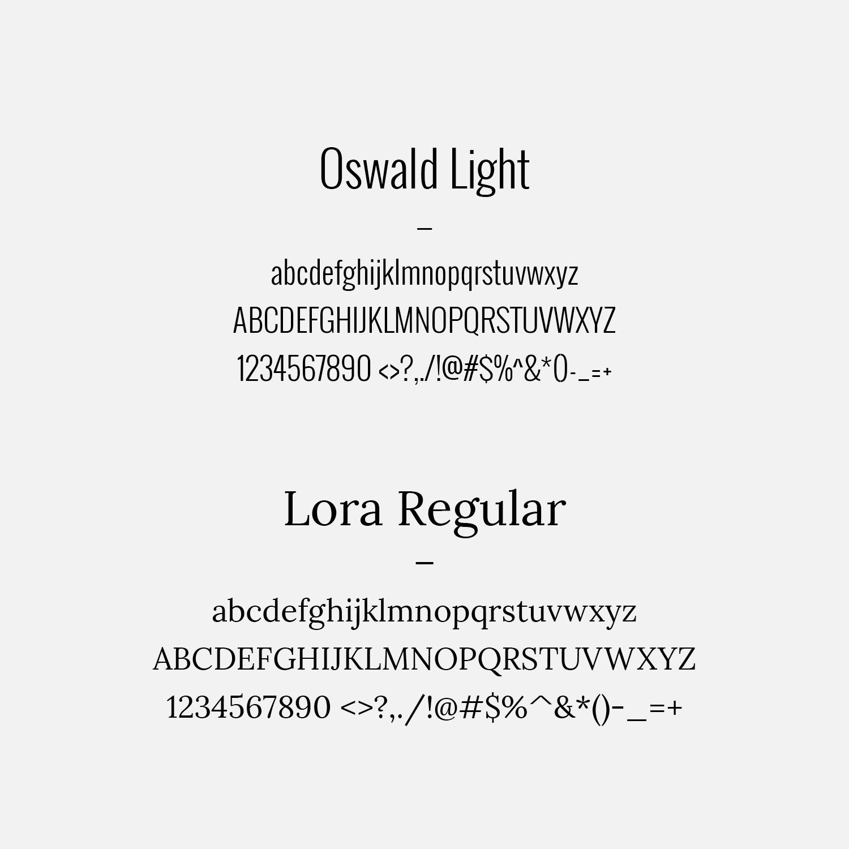 Typography System
