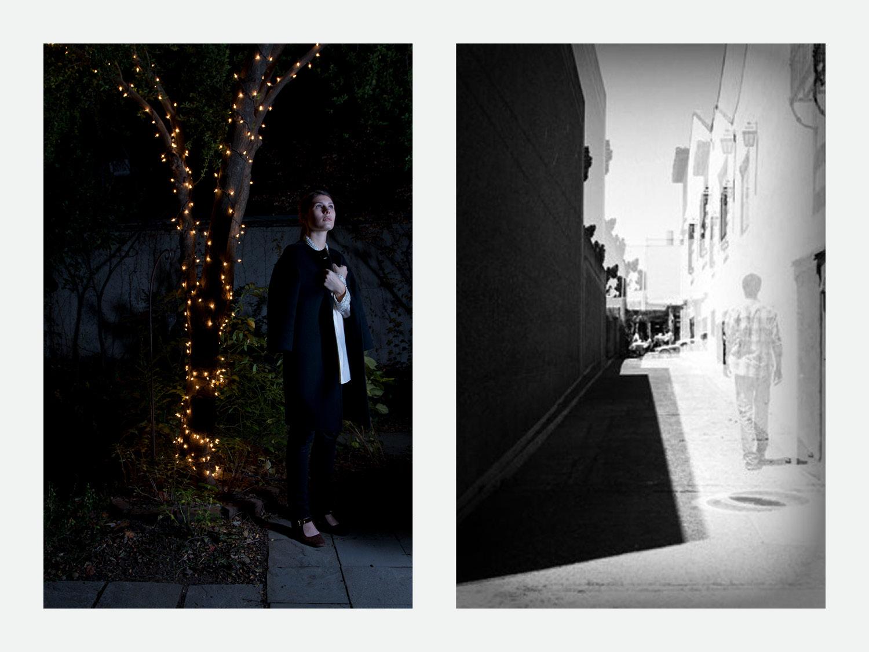 Left: Untitled 02 // Right: Walk Through Carmel