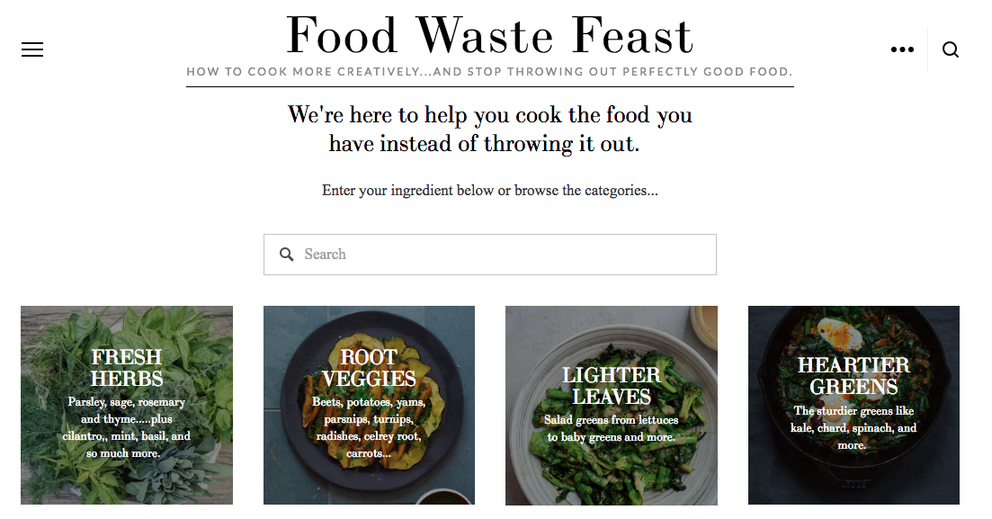 Learn how to reduce your food waste with this helpful website!