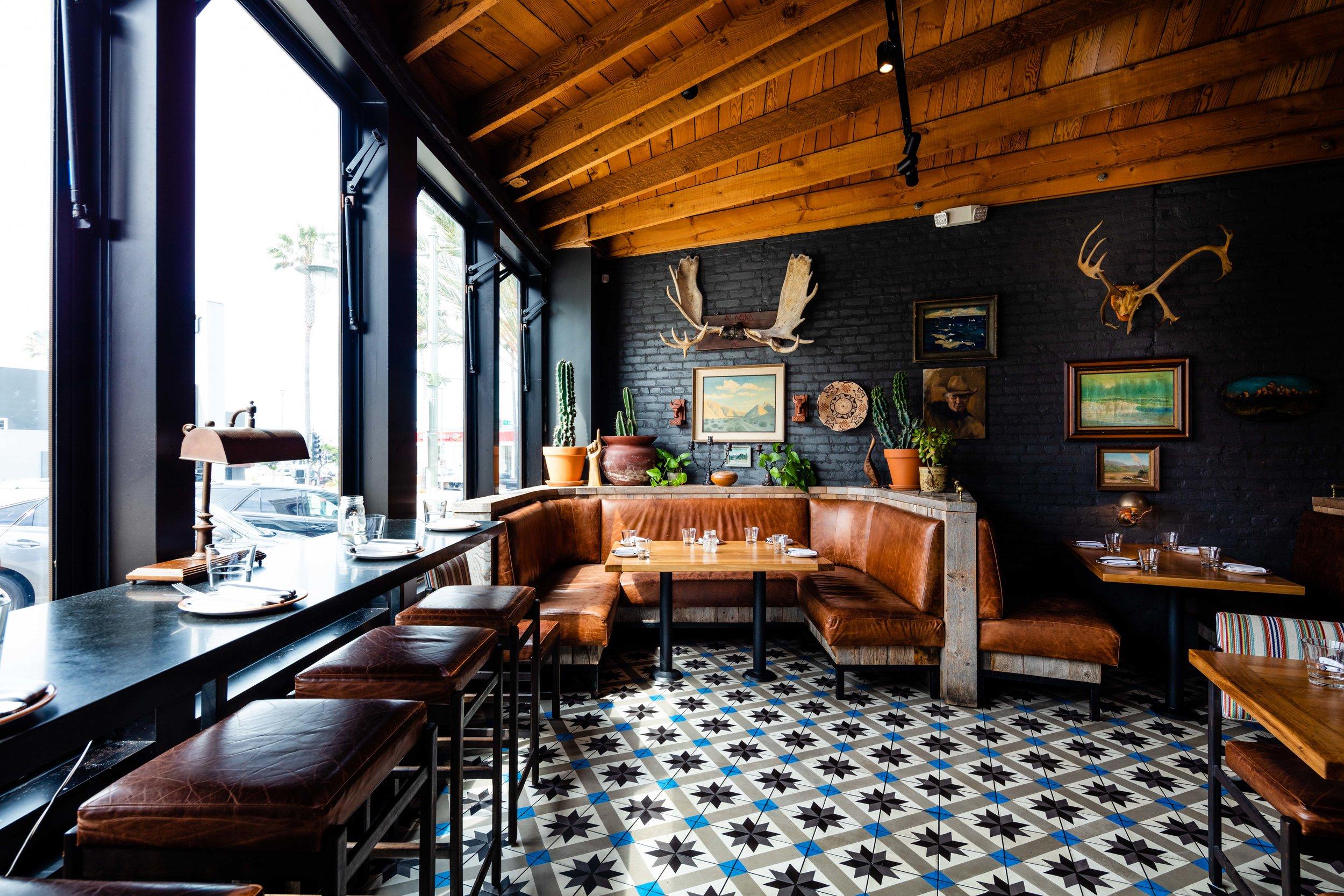 Interiors at Steak & Whisky