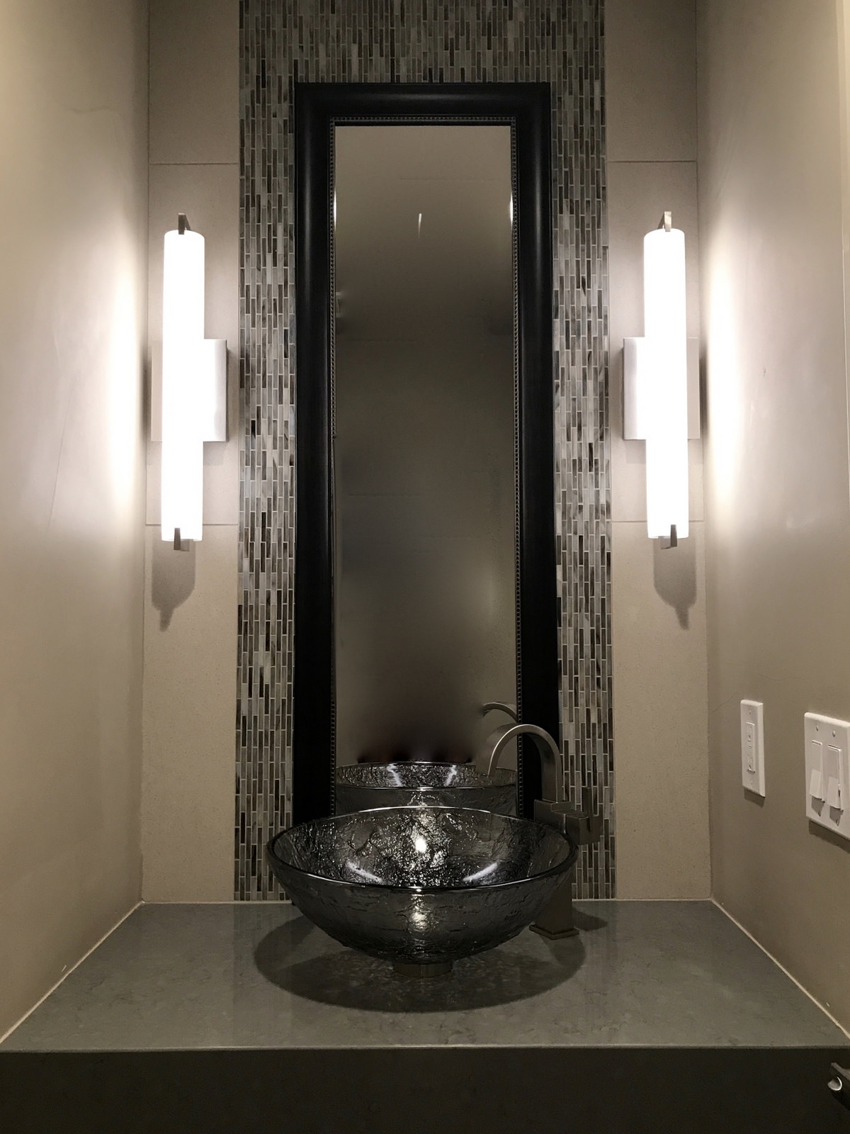 Powder Room-Whole house remodel