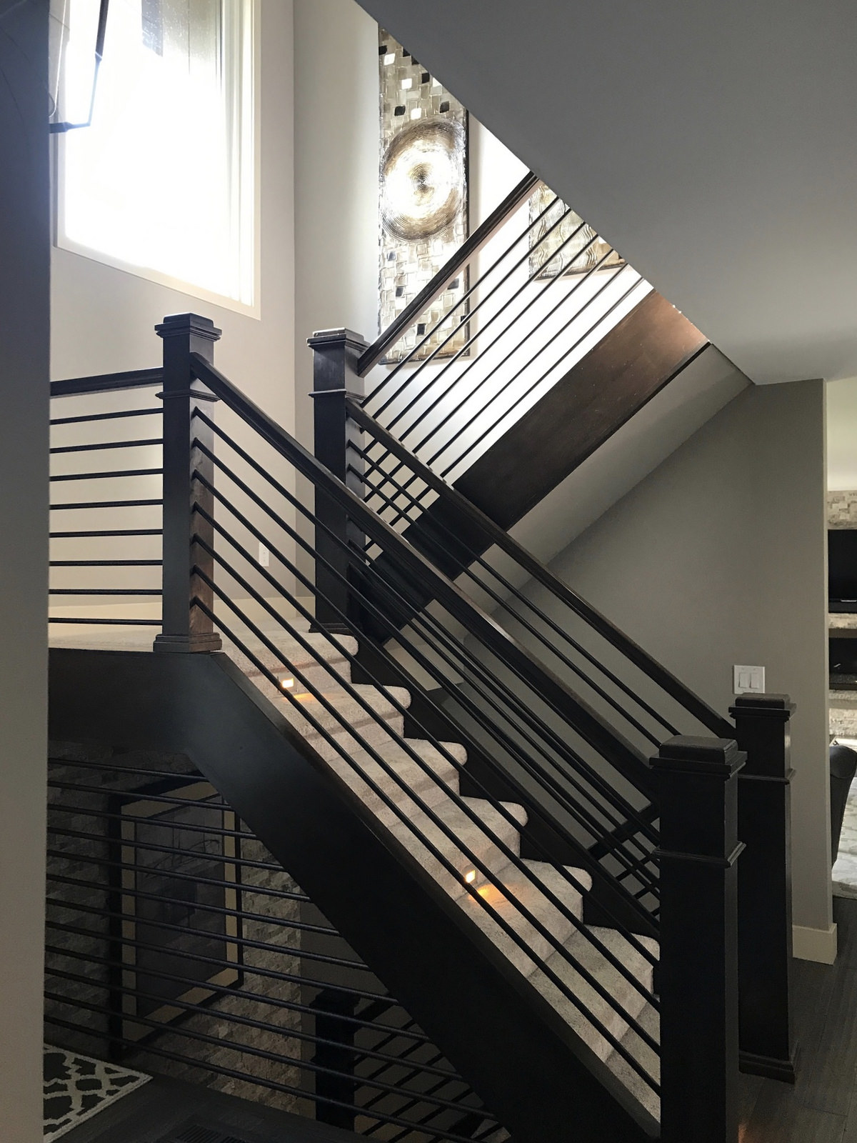 Handrail-Whole House Remodel