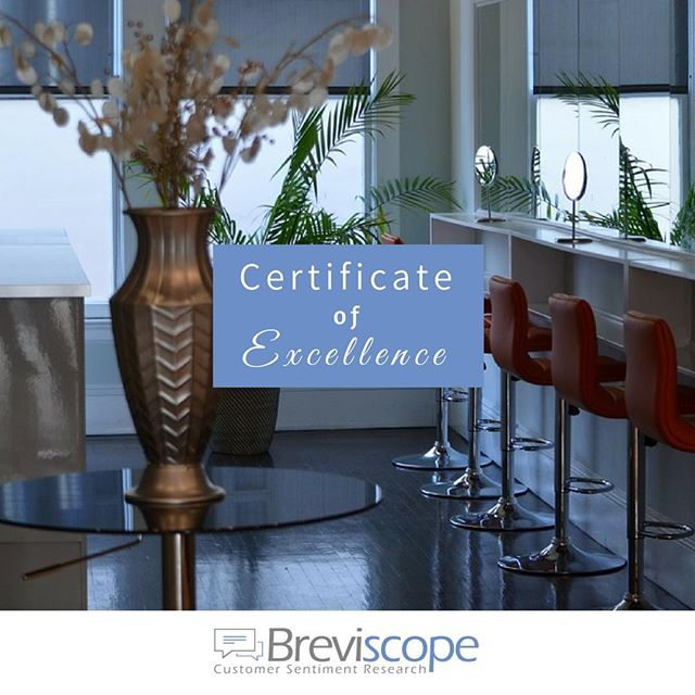 Our Certificate of Excellence and our Certificate of Reputation are provided to business owners once all their previous customer testimonials are thoroughly examined and assessed. We look for customer sentiments, not ambiguous star ratings. . Follow Us @breviscope ✅ . Tags: #hairsalons #hair #hairdresser #hairstylist #hairsalonmanager #supercuts #haircut #barbershop #barber #businessmanagement #BeautySalon #BeautySalonMiami #HairSalonOwner #HairSalonMakeover #hairsalonowner #hairsalonmiami #friseur #friseurmeisterin #friseursalon #friseurmünchen #beautysalondubai #beautysalonmelbourne #beautysalonlondon #cabeleireiro #stylistlife #stylist #hairstylist #spabusiness