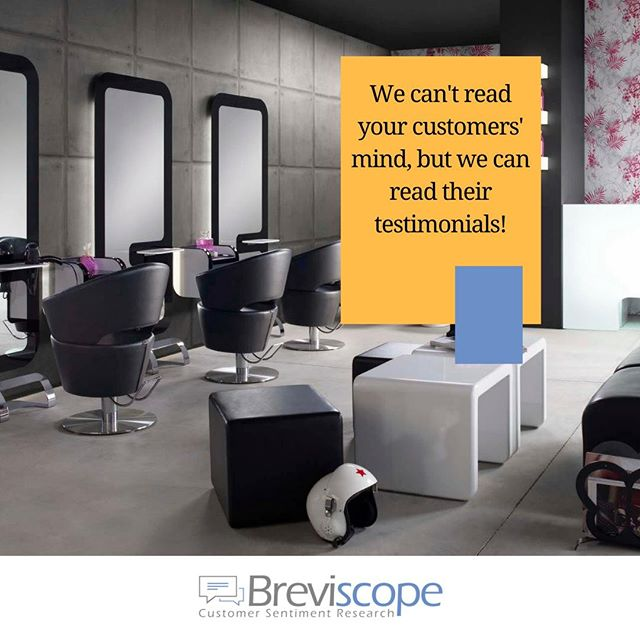 Next time a client visits your salon don't forget to encourage them to write some feedback on social media. All this data can help you put together a customer sentiment report, which can prove to be the launchpad of your business. . Follow Us @breviscope ✅ . Tags: #hairsalons #hair #hairdresser #hairstylist #hairsalonmanager #supercuts #haircut #dresser #barbershop #barber #businessmanagement #BeautySalon #BeautySalonMiami #HairSalonOwner #HairSalonMakeover #hairsalonowner #hairsalonmiami #friseur #friseurmeisterin #friseursalon #friseurmünchen #beautysalondubai #beautysalonmelbourne #beautysalonlondon #cabeleireiro #stylistlife #stylist #hairstylist #spabusiness