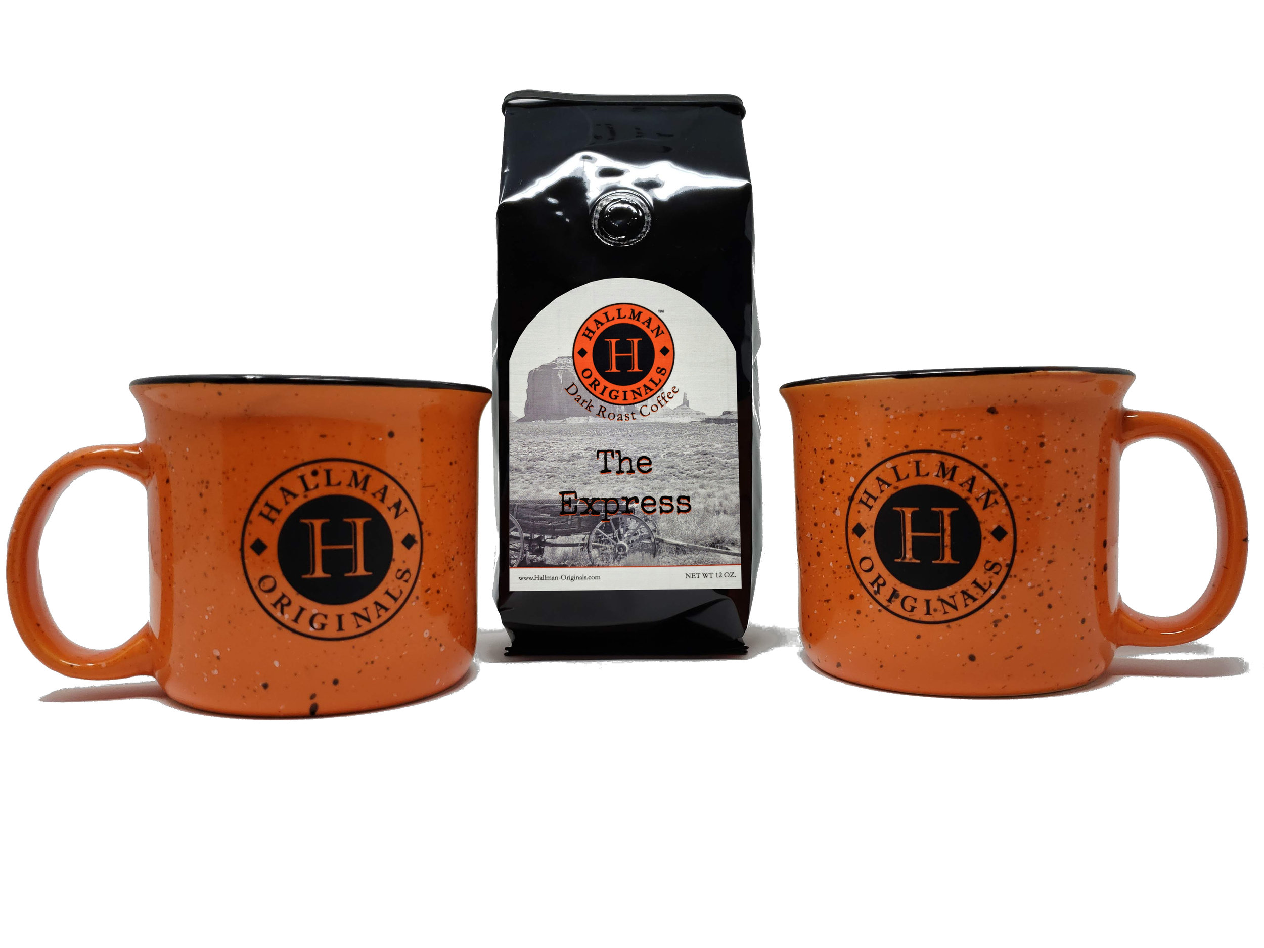 Hallman Originals Coffee has Arrived! - Click below to check out our brand new line of Hallman Originals Coffee. From Light to Dark roast, We have a blend just for you! Wake up and forge your path.