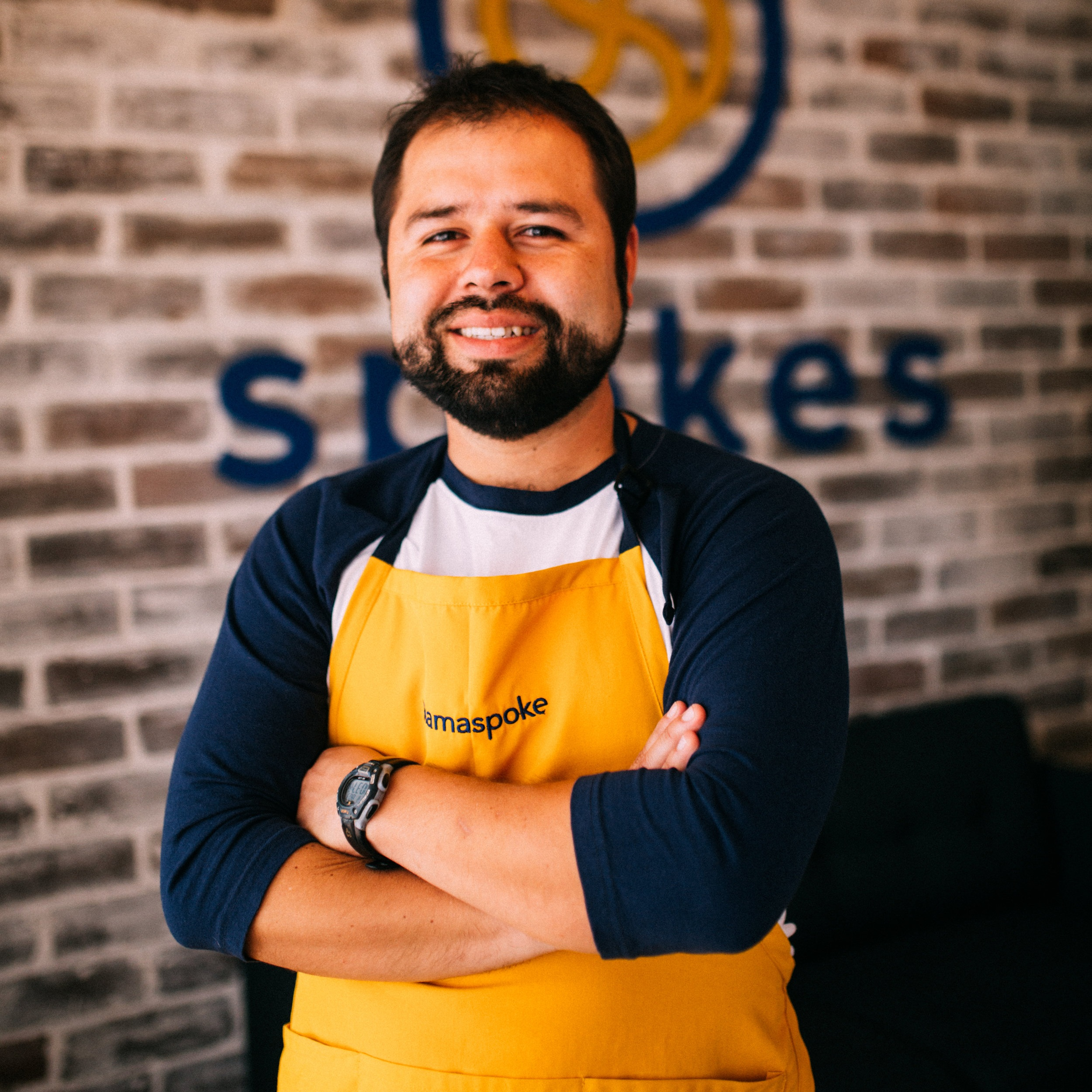 Jose Rolando Monterroso (AKA Roland) - Founder and Roaster, Spokes Cafe34 years old. Husband, father of three rascals and roaster in developmentWe live in Guatemala along with my wife Lisa who's our amazing baker for our desserts. We've been running the coffee shop for a year now. I love roasting for our little café and for others. I look into the different challenges that this beautiful bean gives us every day! I love coffee but mostly I love how coffee generates community. #iamaspoke