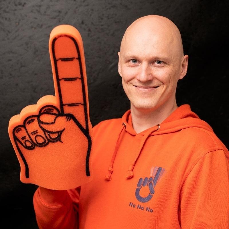 Jaakko Timonen #Founder & CEO# NoNoNo