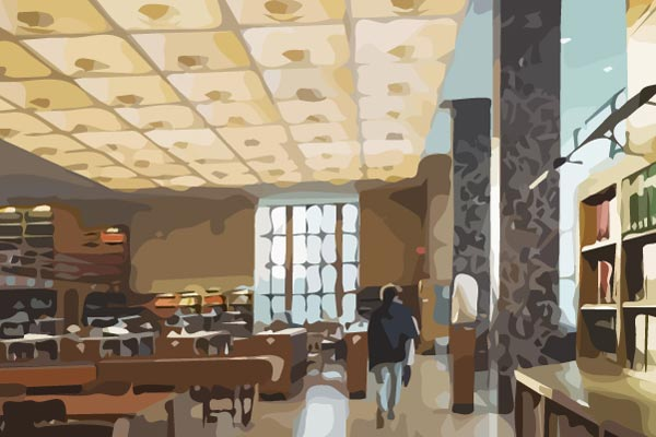 Study Spaces - Where do students go to study on campus? This video explores the places that students go to learn outside of class and get work done.