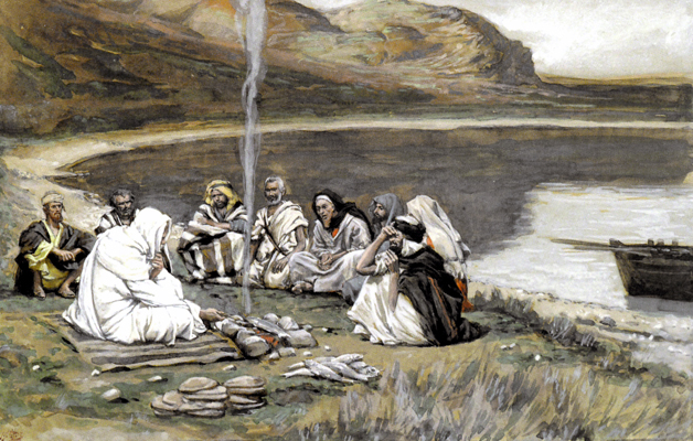 James Jacques Joseph Tissot   Meal of Our Lord and the Apostles