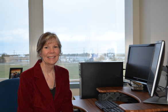 Dr. Kathryn Coyne, the new Director of Delaware Sea Grant