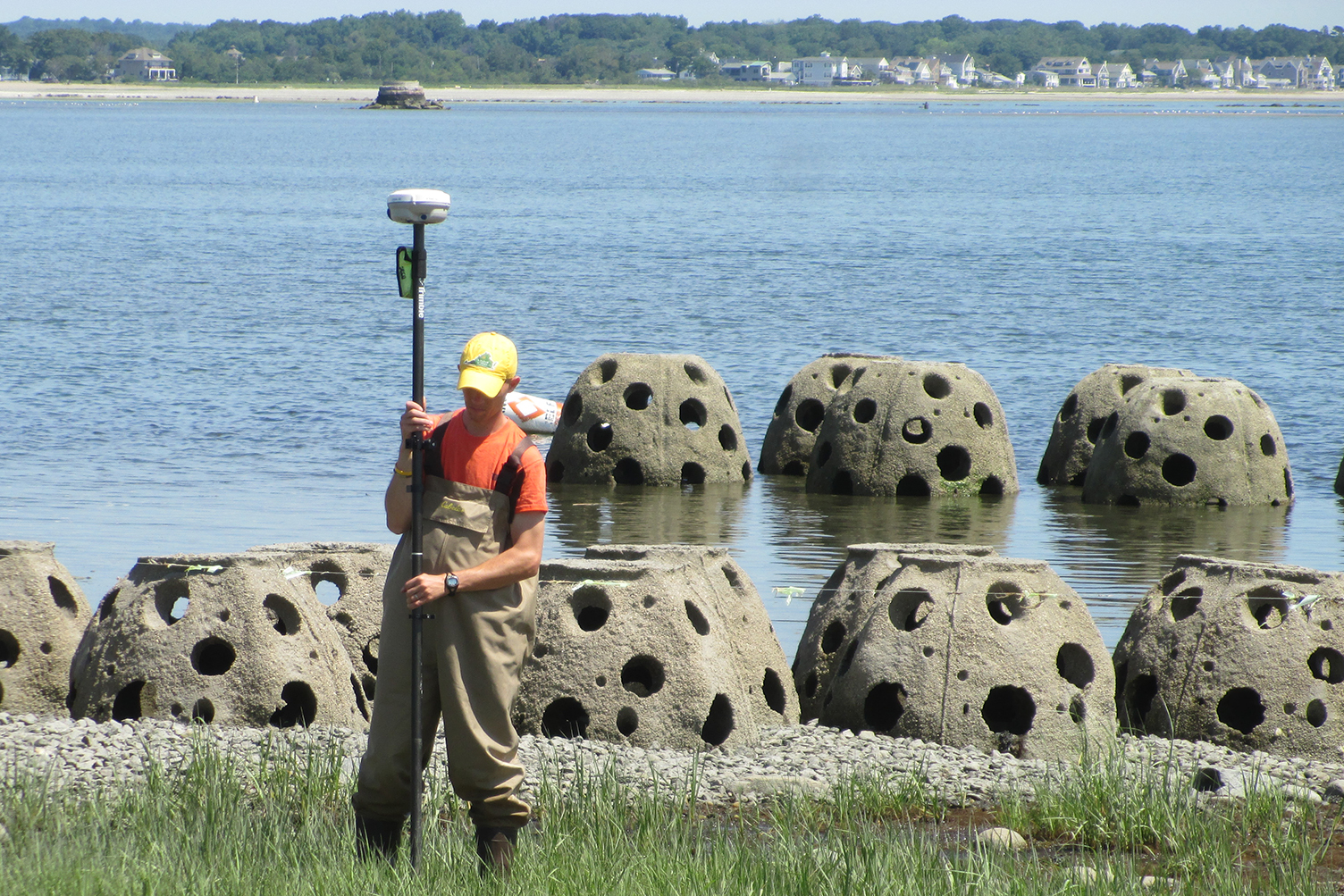 Hauser worked on shoreline restoration projects in Connecticut and elsewhere around the country before joining Delaware Sea Grant.