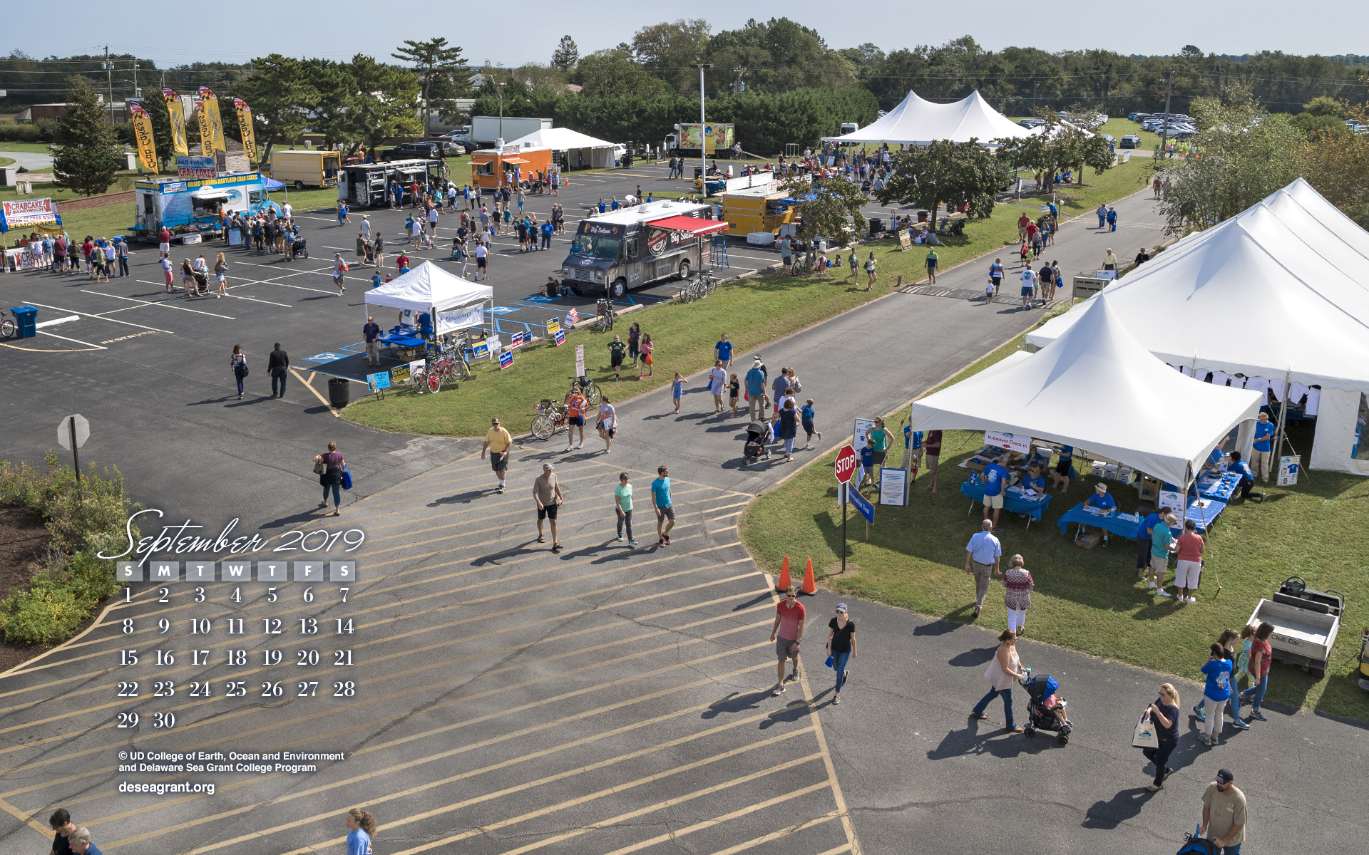 Overhead view of Coast Day