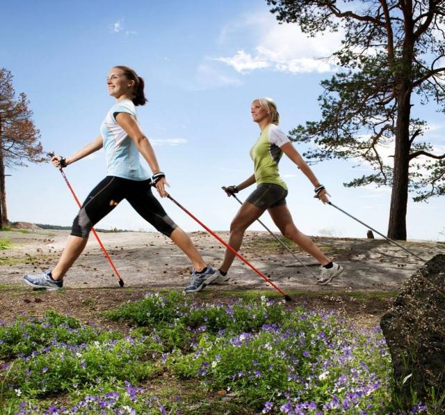 Nordic walk mujer -