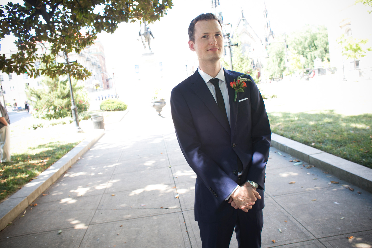 Jack C. - I got a suit for my wedding at Different Regard, and it was a great experience. I am too tall and skinny for off-the-rack suits at any store I've ever been to, but I was concerned that getting a custom suit would be too expensive...Overall, I highly recommend Different Regard. I had no idea how good I could look in the right suit, and my wife loves it too! I plan to keep wearing this suit for years to come - it's the one wedding expense that was really worth it!