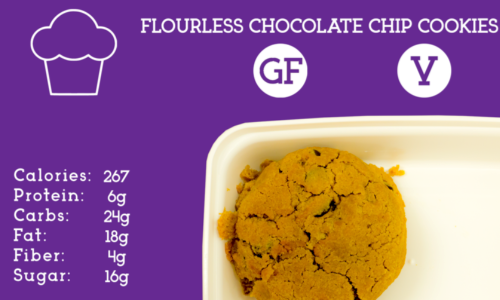 Flourless Chocolate Chip Cookie