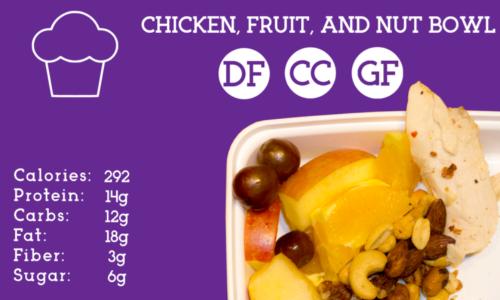 Chicken, Fruit, & Nut Bowl