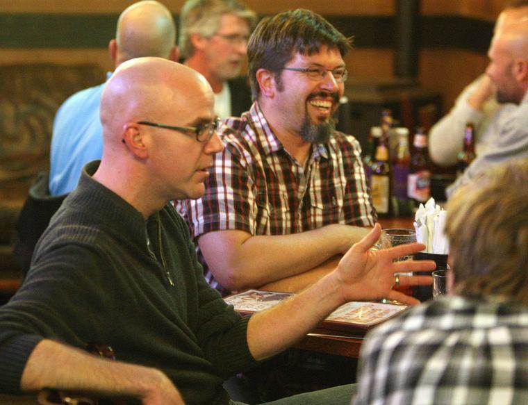 Men's Theology Pub - Once a month, join other men 21+ for drinks and conversation at Whistle Binkies South. See the church wide calendar for the schedule.