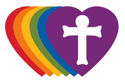 The RIC logo is a symbol that our church is a safe space for the LGBTQ+ community.