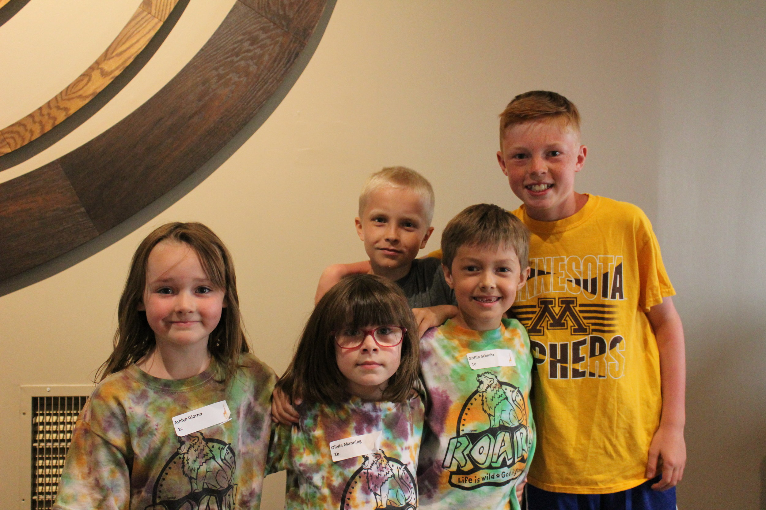 We are grateful for the friends made at VBS!