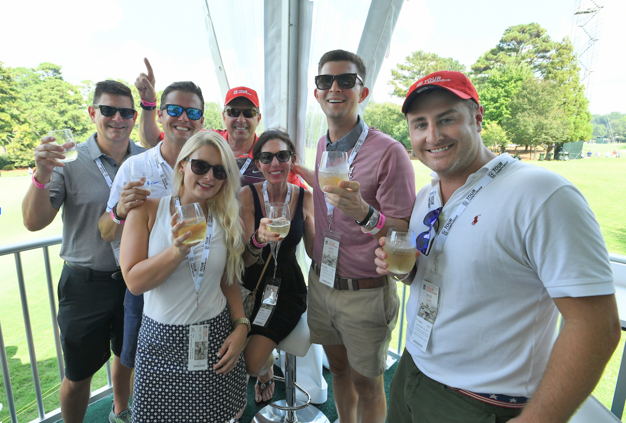 FRIENDS - Join us for exciting events around Atlanta! From a British Open brunch to meet-ups at the tournament, we have golf themed events for everyone. Help us grow the game of golf and to put your passion to good use!