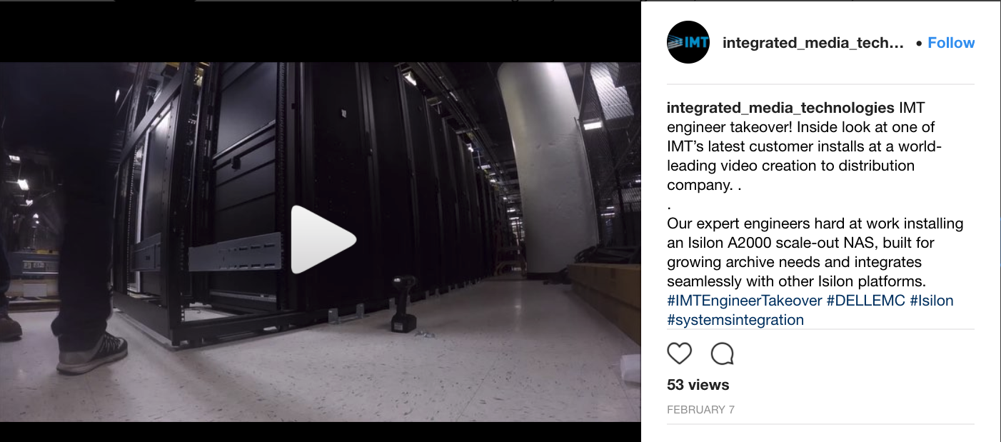 IMT Engineer Takeover