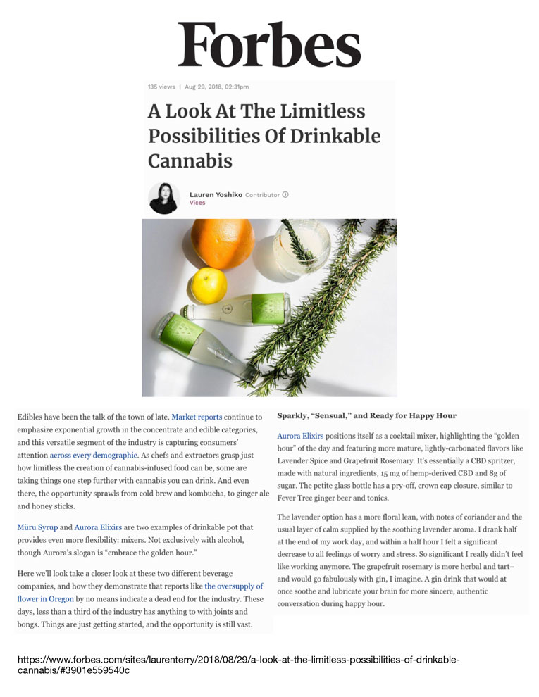 Forbes August 29, 2018    Click to View Article PDF
