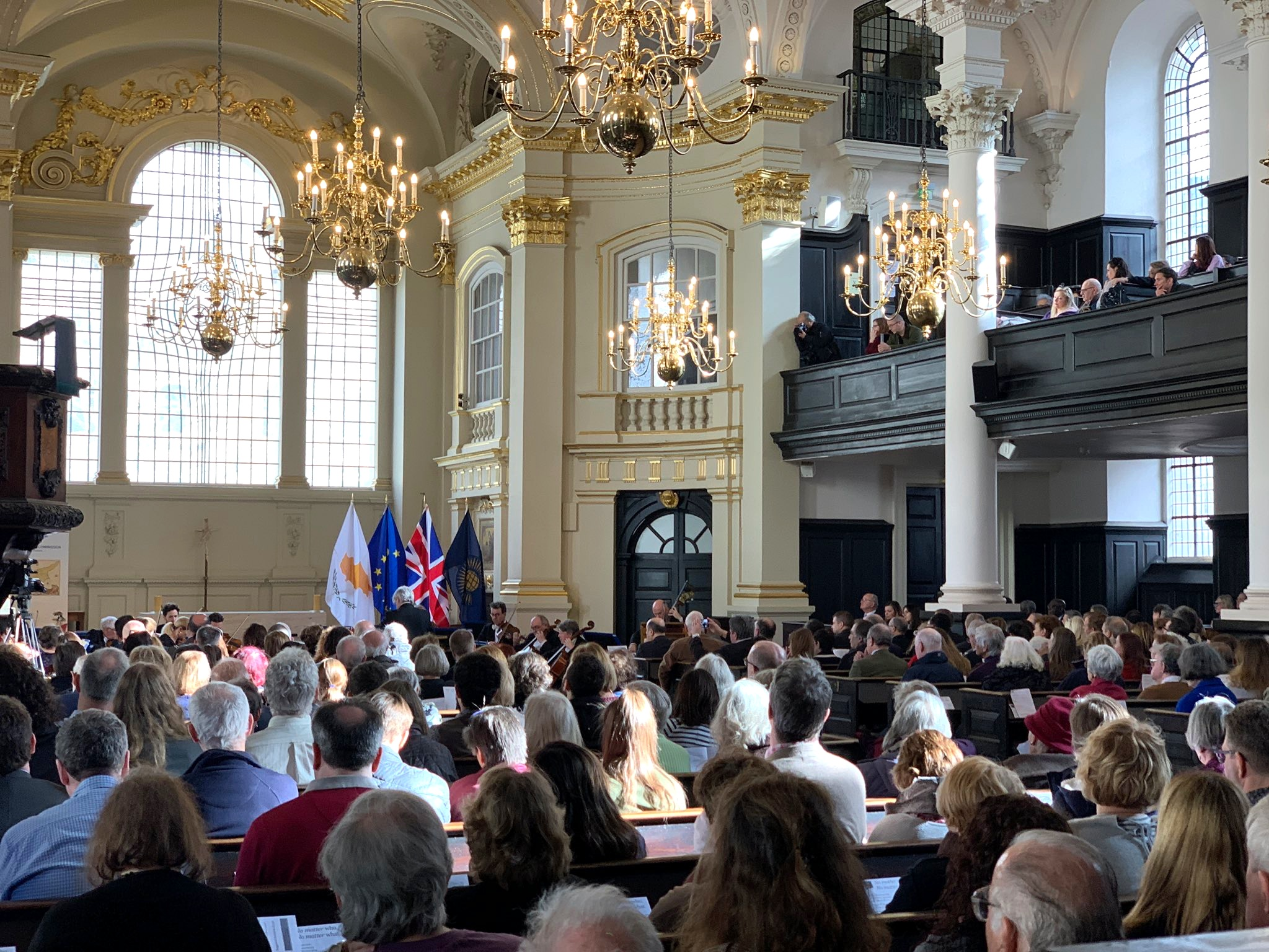 Oxford Philharmonic Orchestra, St Martin-in-the-Fields, 19 Feb 2019 - Katerina is delighted to be performing with the Oxford Philharmonic Orchestra and conductor Marios Papadopoulos during the lunchtime concert representing the High Commission of Cyprus at St Martin-in-the-Fields in London.