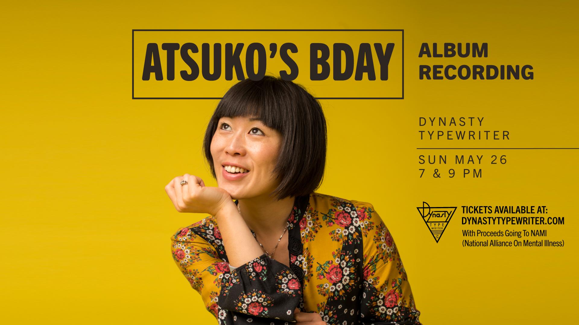 Atsuko Okatsuka at Dynasty Typewriter
