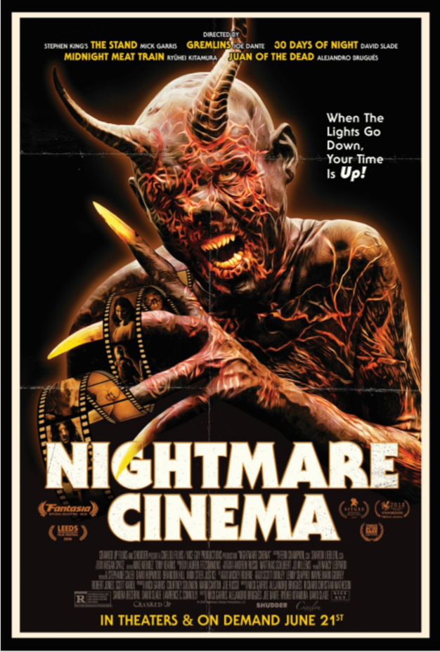 NIGHTMARE CINEMA: Cast & Crew Screening — Dynasty Typewriter
