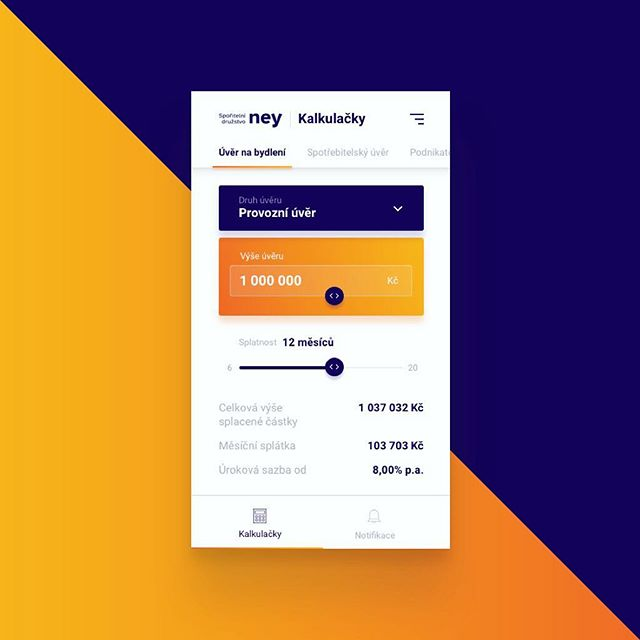Just a midnight play with #online #bank #loan #calculator #design #designer #uxdesign #uxdesigner #ux #ui #uidesigner #uidesign #app #appdesign #productdesigner #sketchapp #ios #orange #blue #concept #mockup #iphone #uiux #uxui #design #designer #inspiration #dribbble #mobile #native