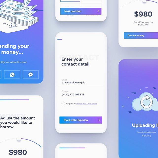 Hello, dribbble fellows. . .  Here at Blueberry.io, we started cooperation with new fintech startup. What you see here is one of the concepts of minimalistic onboarding registration. Any comments and thoughts are appreciated. Cheers! . . . . #design #designer #ux #uxdesign #ui #uidesign #uxdesigner #uidesigner #app #io #apple #material #minimalist #minimalism #finnance #registration #onboarding #sketchapp #appdesign #appdesigner #productdesigner #iphone #fintech #startups #dribbble