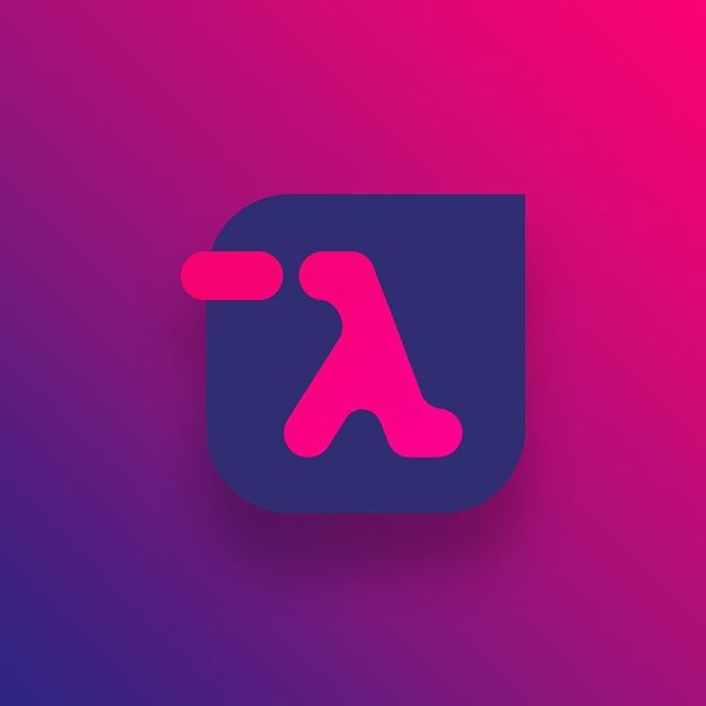 Oh yeah, it's been a while I designed a proper branding. Today I started with an experiment for functional programming conference.  It's very early stage but I would appreciate feedback, how I've been doing so far ;) Cheers designers.  Check out my #dribbble profile! . . . . #design #designer #branding #icon #lambda #colors #ios #android #brandingdesigner #brands #brand #ui #uidesigner #puple #pink #abstract #organic