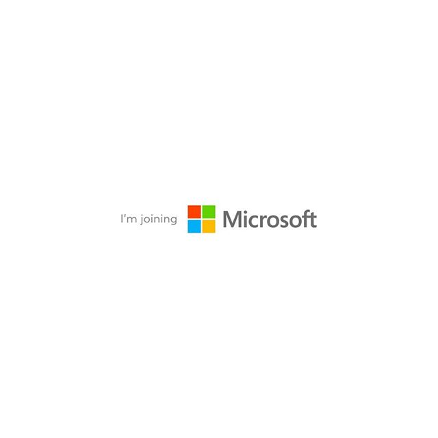 Im joining @microsoft