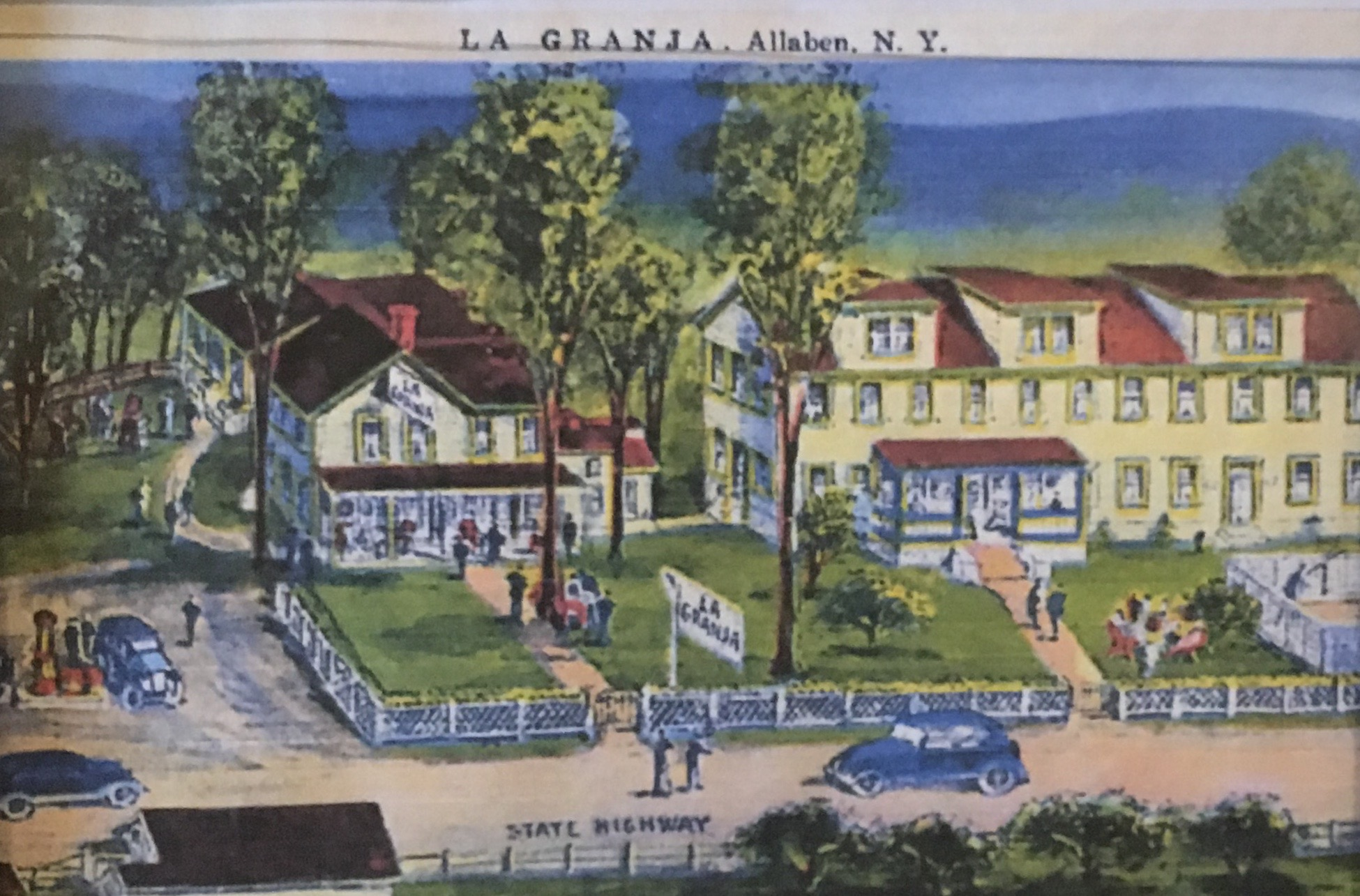 "Our first branch in the Catskills, NY was formerly ""La Granja,"" was a farm turned restaurant and inn in the 1920's by Spanish immigrants."